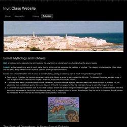 Folktales - Inuit Class Website