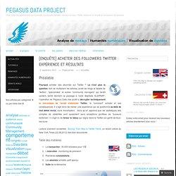 [Enquête] Acheter des followers Twitter : expérience et résultats