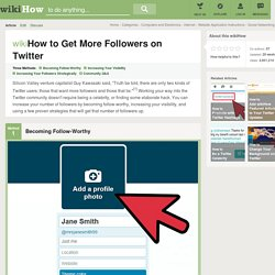 How to Get More Followers on Twitter (with Cheat Sheet)