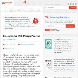 Following A Web Design Process