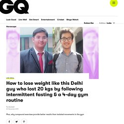 Best Weight Loss Exercise, Gym Exercises to Lose Weight at GQ India