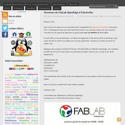 Ouverture du FabLab OpenEdge à Folschviller - Le blog de l'association GOALL