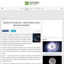 Système Fomalhaut : confirmation d'une deuxième planète