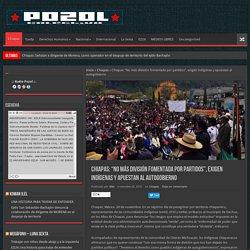 """Chiapas: """"No más división fomentada por partidos"""", exigen indígenas y apuestan al autogobierno"""