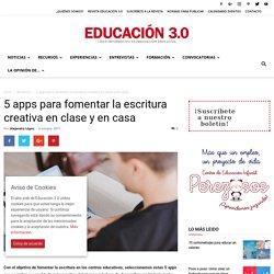 5 apps para fomentar la escritura creativa en clase y en casa