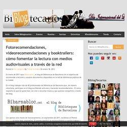 Fomento de la lectura con medios audiovisuales a través de la red