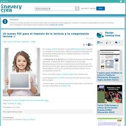 10 tareas TIC para el fomento de la lectura y la competencia lectora