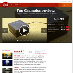 Fon Gramofon review - CNET