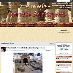 La fuente de la Foncalada de Oviedo es de origen romano