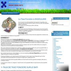 La Taxe Foncière à ANGOULêME (16000)