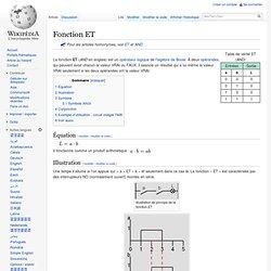 Fonction ET
