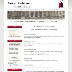 Avocat Fonction publique Droit des fonctionnaires et agents publics - AVOCAT FONCTION PUBLIQUE