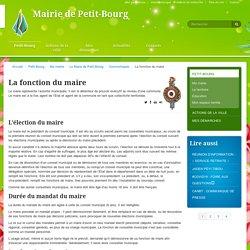 La fonction du maire - Mairie de Petit-Bourg