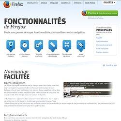 Fonctionnalités: Plus rapide, plus sûr et plus personnalisable