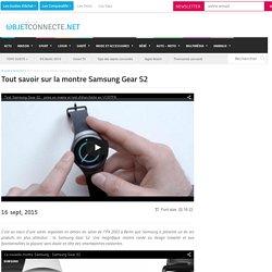 Samsung Gear S2 : Test, fonctionnalités, disponibilité et prix