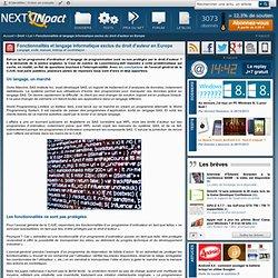 Fonctionnalités et langage informatique exclus du droit d'auteur en Europe - Actu PC INpact