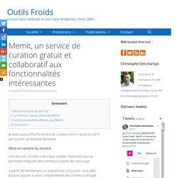 Memit, un service de curation gratuit aux fonctionnalités intéressantes