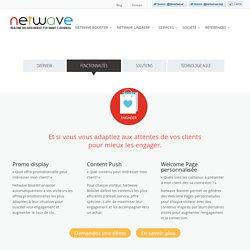 Fonctionnalités - Netwave