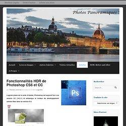 Fonctionnalités HDR de Photoshop CS6