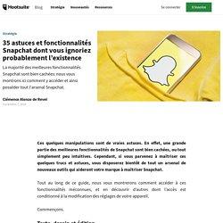 17 fonctionnalités Snapchat dont vous ignoriez probablement l'existence