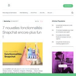 Les fonctionnalités Snapchat à ne pas manquer ! - Wix.com