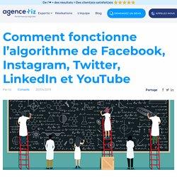 Comment fonctionne l'algorithme de Facebook et des réseaux sociaux Instagram, Twitter, LinkedIn et YouTube - Tiz - Agence Web & Création de Site Internet à Strasbourg, Alsace