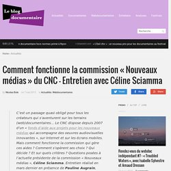 Comment fonctionne la commission «Nouveaux médias» du CNC – Entretien avec Céline Sciamma
