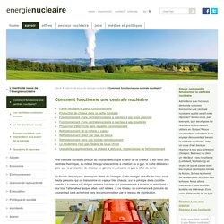 Comment fonctionne une centrale nucléaire - energienucleaire.ch