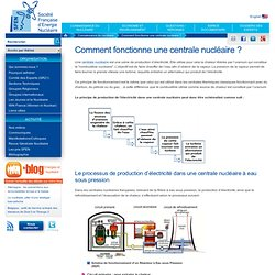 Comment fonctionne une centrale nucléaire