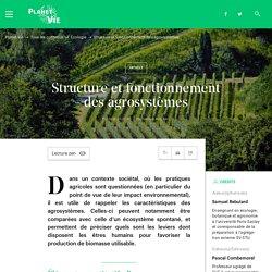 Structure et fonctionnement des agrosystèmes (Planet-Vie - ENS)