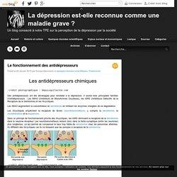 Le fonctionnement des antidépresseurs - La dépression est-elle reconnue comme une maladie grave ?