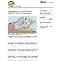 Fonctionnement de la serre bioclimatique - Florévie