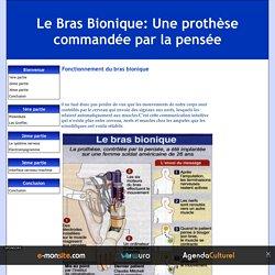 Fonctionnement du bras bionique - Le Bras Bionique: Une prothèse commandée par la pensée