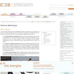 Voiture électrique : concepts, fonctionnement, constructeurs, avenir