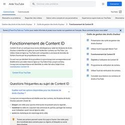 Fonctionnement de ContentID - Centre d'aide YouTube