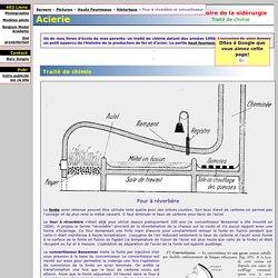 Haut Fourneaux: histoire et fonctionnement - sidérurgie: le four à réverbère et le convertisseur