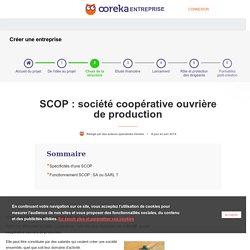 SCOP : fonctionnement et création - Ooreka