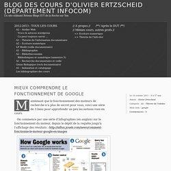 Mieux comprendre le fonctionnement de Google