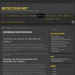 Fonctionnement d'un détecteur de métaux - DETECTEUR.NET