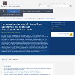 Les marchés locaux du travail en Bretagne : six profils de fonctionnement distincts