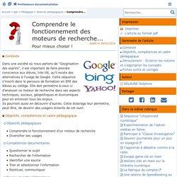 Comprendre le fonctionnement des moteurs de recherche... - Doc'Poitiers - Le site des professeurs documentalistes