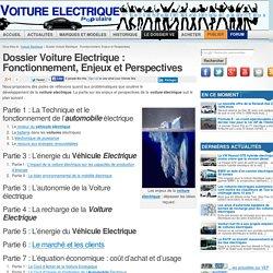 Dossier : Fonctionnement et Enjeux du Vehicule électrique