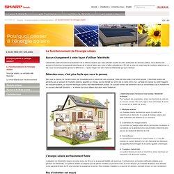 Le fonctionnement de l'énergie solaire