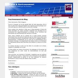 Energies & Environnement Blog