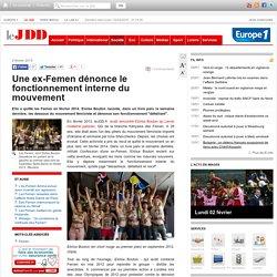 Eloïse Bouton, ex-Femen, dénonce le fonctionnement interne du mouvement