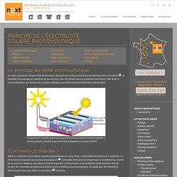 Principe de fonctionnement d'un panneau solaire photovoltaique