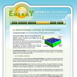 Principe pearltrees for Fonctionnement des panneaux photovoltaiques