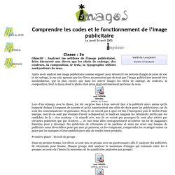 Comprendre les codes et le fonctionnement de l'image publicitaire