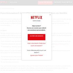 Fonctionnement du système de recommandation de Netflix