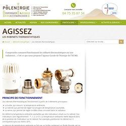 Fonctionnement des robinets thermostatiques : Polenergie